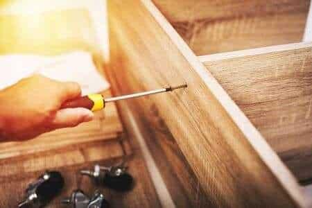 Custom Wood Cabinet Installation renton